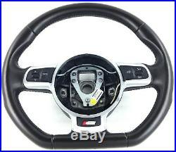 Genuine OEM Audi S3 8P flat bottom DSG steering wheel 8J0419091C. TT MK2 8J. 1C