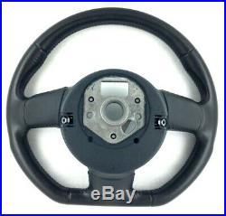 Genuine OEM Audi TT MK2 8J flat bottom steering wheel 8J0419091. S3 8P etc. 9E