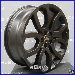 Genuine Range Rover L405/l494 Sport 22 Style 5004 Black Stealth Alloy Wheels X4