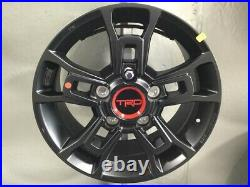 Genuine Toyota TRD PRO Tundra and Sequoia BBS Matte Black Forged Wheel PT960-342