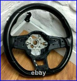 Genuine VW Golf MK7 flat bottom steering wheel. GTi GTD R etc. B17