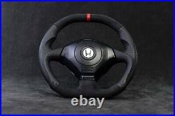 Honda S2000 steering wheel Custom flat bottom AP1 AP2 1999-2009 s2k