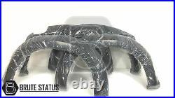 Isuzu D-Max 2012-2015 Wide Wheel Arch Kit Extended Fender Flares Matt Black Dmax