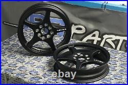Lenso XPD Black Drag Skinnies Wheels 15x3.5 4x100 for Civic Integra CRX Rims