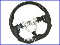 Lexus IS250 IS350 ISF IS-F black carbon top flat bottom steering wheel XE20