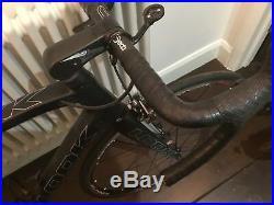Look 695 Carbon Bicycle Size Large, Wheels 700c, Matt Carbon Excellent Condition