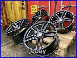 MERCEDES A CLASS CLA C CLASS E CLASS 18 ALUWERKS TW5 Alloy Wheels Matt Black TT