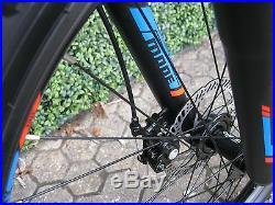 Matt Black 21 Speed Mtb Mountain Bike Bicycle 26 Wheel 16.5 Frame