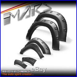Matt Black Fender Flares Wheel Arch for Toyota Hilux Revo Rocco Dual Cap 15+