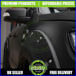 Matte Black Raptor Look Wide Fender Arches Arch To Fit Ford Ranger T7 2015 2021