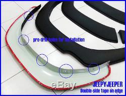 Matte Black Toyota All New Hilux Revo M80 Sr5 2015 Fender Flares Wheel Arches