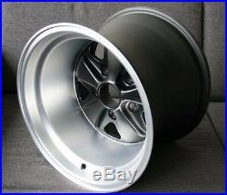 Maxilite Fuchs 15x11 Wheel NEW Maxilite TUV ET-27 Matte Black For Porsche