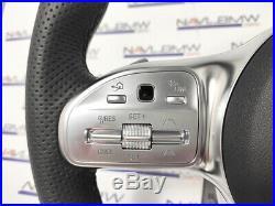 Mercedes Benz AMG Sport Steering Wheel Flat Bottom W205 LCI C217 LHD LEFT HAND