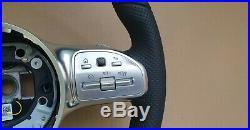 Mercedes Benz A C E CLS G W177 W213 W238 W257 flat bottom Steering Wheel for RHD