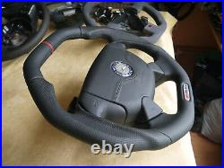 Mercedes Benz OEM customized flat thick steering wheel SL SLK R129 R170 W140 AMG