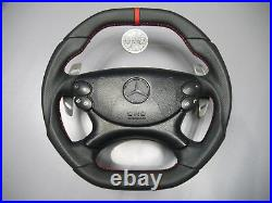 Mercedes Exclusive steering wheel flat top & bottom W219 R230 W209 W211 W463 AMG