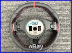 Mercedes Glk X204 W204 W212 Se Flat Top&bottom Custom Made Steering Wheel