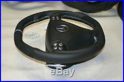 Mercedes SLK R171 SLK55 W209 W203 CLK AMG paddle steering wheel flat bottom
