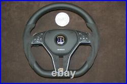 Mercedes custom steering wheel flat bottom thick G63 GL63 ML63 G65 G550 4x4 6x6