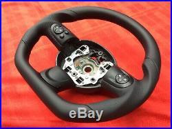 Mini Cooper Jcw S R56 3 R57 R55 New Flat Bottom Custom Made Steering Wheel
