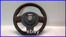 Mini Cooper Steering Wheel Flat Alcantara Jcw Custom R55 R56 R57 R60 Red Stitch