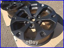 Mitsubishi L200 17 ALLOY WHEELS REFURBISHED MATTE BLACK OPTION TO ADD TYRES