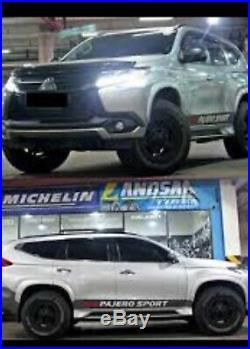 Mitsubishi Pajero Sport Montero Sport 2015-2019 Wheel Arch Trims Fender Flares