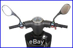 NEW 3 Wheeled Matt Black ZT500 20AH 500W Electric Mobility Scooter LED Display