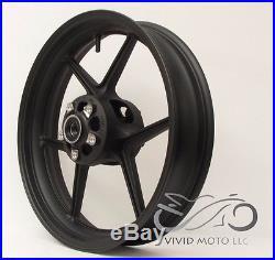 NEW MATTE BLACK Front Wheel ZX6R 2005-2017 ZX10R 2006-2010 636 Rim Kawasaki 2007