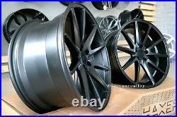 New 4x21 inch Vossen VFS 1 Style Rims Mercedes BMW G Series Concave Wheels Black