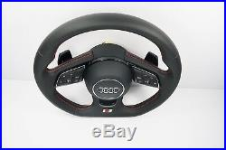 New Audi S Line A4 A5 S4 S5 Rs4 Rs5 Steering Wheel Flat Bottom 2008 2019 1120