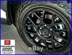 New Toyota Rav4 2018-2020 Xp Matte Black X-series 17 Inch Wheels 4pc