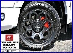 New Toyota Tundra Xsp Style Matte Black 20 Inch Clash Wheels 4 Piece Set