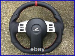 Nissan 350z New Flat Bottom Custom Made Steering Wheel