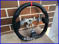 Nissan GT-R GTR R35 Alcantara Gt spec flat bottom steering wheel Sydney Stock