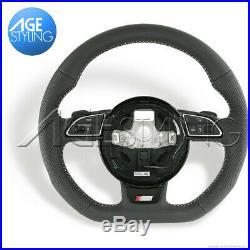 OEM AUDI A3 A4 A5 Q3 Q5 Q7 S-Line Flat Bottom Steering Wheel # 8K0419091CPIXC
