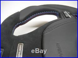 OEM BMW custom steering wheel flat bottom Individual Performance F10 F01 F11 F07