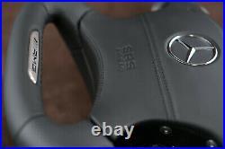 OEM Mercedes W220 W215 s55 cl65 s65 cl55 AMG Custom steering wheel flat bottom