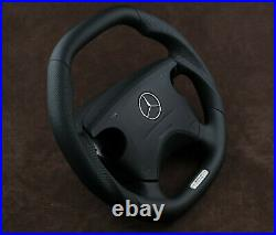 OEM Mercedes custom steering wheel flat top & bottom W210 W208 W463 AMG CLK E