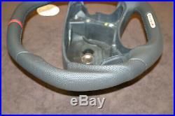 OEM Mercedes custom thick flat bottom steering wheel W219 R230 CLK W209 W211 AMG