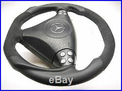 OEM steering wheel Mercedes Benz SLK R171 W203 AMG paddle FACELIFT flat bottom