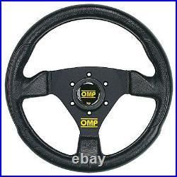 OMP Trecento 300mm Steering Wheel Race / Rally SYNTHETIC LEATHER OD1989NN