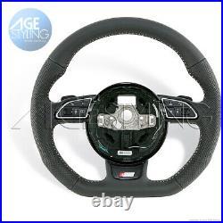 Oem Audi A1 8x A6 A7 4g S-line Flat Bottom Steering Wheel 2012-017 8xa419091frri