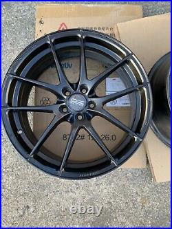 Oz Racing Ultraleggera Hlt Matt Black Alloy Wheel 19x9 Et42 5x112