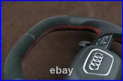 RSQ8 Q8 Q7 4M SQ7 RSQ7 Custom steering wheel with URUS paddles flat top & bottom