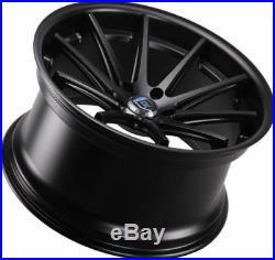 Rohana RC10 20x10 5x114.3 ET40 Matte Black Wheels Rims (set of 4)