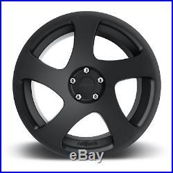 Rotiform TMB 18 8.5J 5x112 Monoblock 1 Piece Cast Alloy Wheels Matte Black