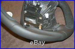 Saab 9-5 9-3 thick customized flat bottom steering wheel 1998-2005 Hirsch AERO