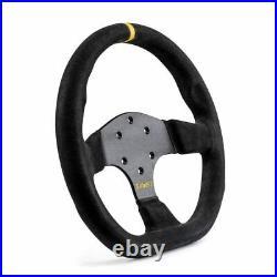 Sabelt SW-733 Flat Bottom Suede Racing Rally Steering Wheel 330mm Diameter