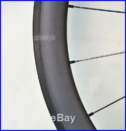 Sapim CX-RAY 38mm Carbon Clincher Wheel 25mm 700C Powerway 3k Matt Rim Road Bike